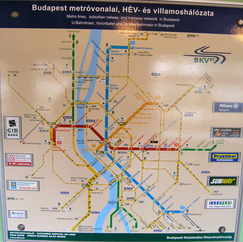 Budapestin Raitiotiet
